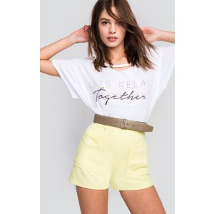 Let's Relax Together Rivo Tee | Wildfox