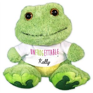 UNFROGETTABLE Plush Frog - 10