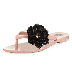 Melissa Shoes Harmonic Garden Flower Sandal