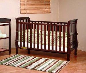 $81.54Athena Naomi 4 in 1 Crib with Toddler Rail, Cherry