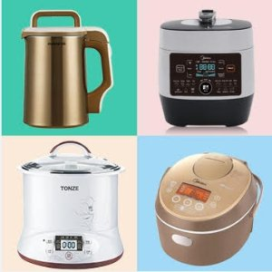 Stewpot Only $69.99!JoyoungNoodle Maker, SoyMilkMaker, Electric Stewpot, Midea Rice Cooker Sale @ Huarenstore