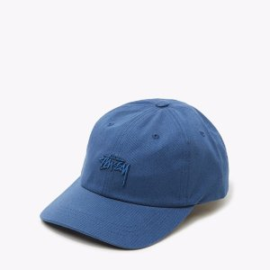 Tonal Stock Low Cap in Navy