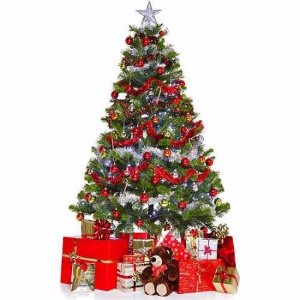 Christmas Tree and Presents Standee - Walmart.com