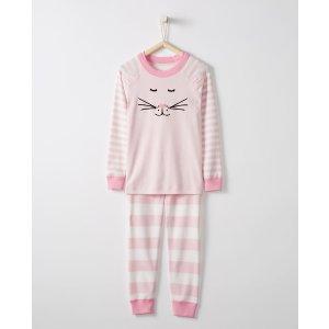 Long John Pajamas In Organic Cotton