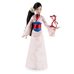 Mulan Classic Doll with Mushu Figure - 12'' | Disney Store