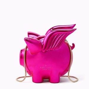 imagination flying pig clutch | Kate Spade New York