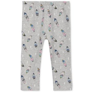 First Impressions Feather-Print Leggings, Baby Girls (0-24 months), Created for Macy's