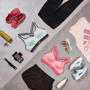 Up to 50% Off + Extra 20% OffAdidas Woman Running Tops & Shorts @ adidas