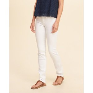 Girls Low-Rise Skinny Jeans | Girls Bottoms | HollisterCo.com