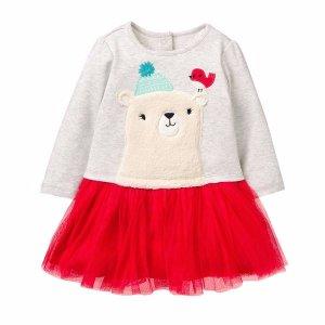 polar party dress