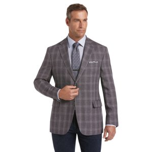 Joseph Abboud Linen Plaid Tailored Fit 2-Button Sportcoat CLEARANCE - All Clearance | Jos A Bank