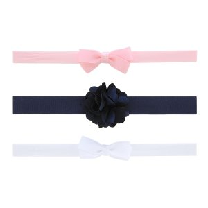 Carter's Infant Girl's 3-Pack Stretch Headbands - Bows & Rosette - Clothing - Baby Clothing - Baby Accessories