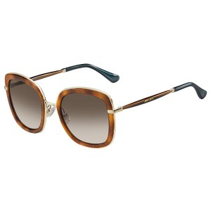 Jimmy Choo Glenn Rectangle Sunglasses
