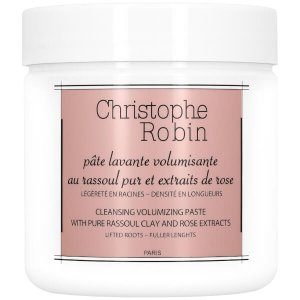 Christophe Robin Cleansing Volumizing Paste with Pure Rassoul Clay and Rose Extracts 250ml | Reviews | SkinStore
