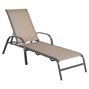 Stack Sling Patio Lounge Chair Tan - Room Essentials™ : Target