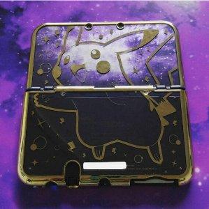 $19.95New Nintendo 3DS XL Pikachu Premium Gold Protector