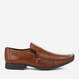 Clarks Men's Ferro Step Leather Loafers - Tan