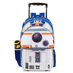 R2-D2 Talking Light-Up Rolling Backpack - Personalizable | Disney Store