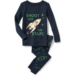 2-Piece Spaceship-Graphic Sleep Set for Toddler & Baby | Old Navy