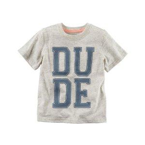Toddler Boy Dude Graphic Tee | Carters.com