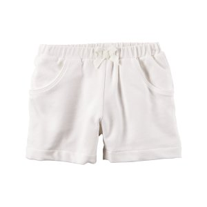 Baby Girl French Terry Shorts | Carters.com