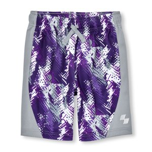Boys PLACE Sport Printed Mesh Shorts | The Children's Place