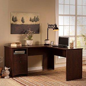 $189.65 包邮 史低Bush Furniture Buena Vista L型办公桌