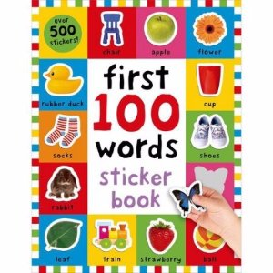 First 100 Words Sticker Book: Over 500 Stickers - Walmart.com