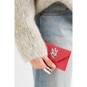 Alexander McQueen | Insignia textured-leather cardholder