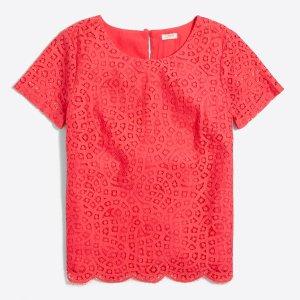 Lace T-shirt : Dresses | J.Crew Factory