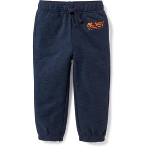 Logo Fleece Joggers for Toddler Boys