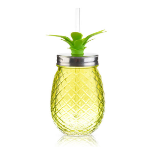 Home Accents® Tropical 16-oz. Pineapple Glass Sipper | Belk