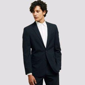 Slim-Fit Notch-Lapel Suit Jacket