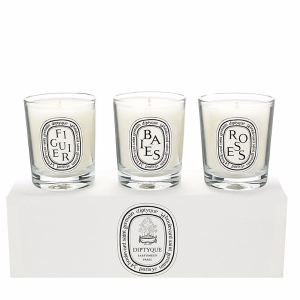 Baies, Figuier, Roses Candle Set