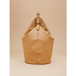 Leather Steamer Handbag