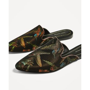 FABRIC SLIDE LOAFERS - View all-SHOES-WOMAN | ZARA United States