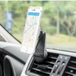 Car Mount, F-color Air Vent Car Phone Mount Cell Phone Holder for Car Magnetic Support Smartphones iPhone, Samsung, HTC, LG, Google Pixel,GPS Devices, Strong Magnets, Stable, Easy Install, Black