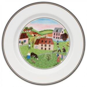 Design Naif Appetizer/Dessert Plate #2 - Spring Morn 6 3/4 in - Villeroy & Boch
