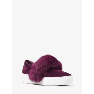 Maven Fur and Suede Slip-On Sneaker