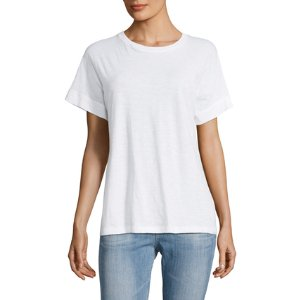Cocoon Cotton Tee by Vince at Gilt
