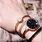 Anne Klein AK/1470GBST  女士施华洛世奇水晶腕表套装特卖