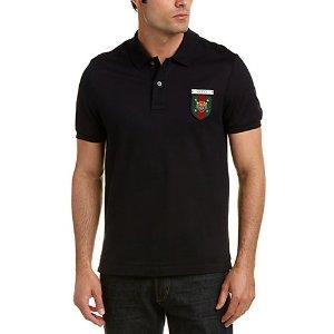 Gucci Web Crest Cotton Polo