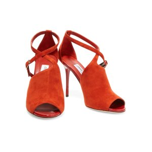 Cutout suede sandals | Jimmy Choo | US | THE OUTNET