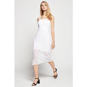 Floral Lace Midi 连衣裙