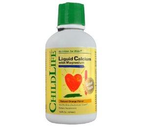 $6.51ChildLife Calcium with Magnesium Liquid, Orange, 16 Fl Oz