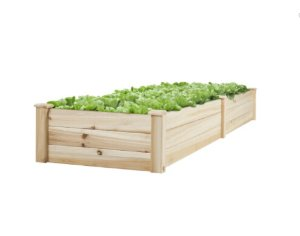 BCP Vegetable Raised Garden Bed Patio Backyard Grow Flowers Elevated Planter