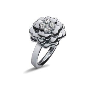SANTORINI FLOWER RING