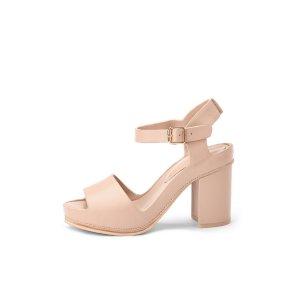 Modern strap sandal