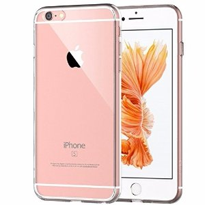 FreeJETech iPhone 6 Plus Case, JETech Apple iPhone 6s/6 Plus Case 5.5 Inch Bumper Cover Shock-Absorption Bumper and Anti-Scratch Clear Back for iPhone 6s Plus and iPhone 6 Plus 5.5 Inch - 0701