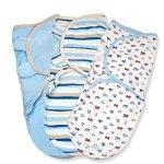 Summer Infant SwaddleMe 全棉婴儿安全包巾(3个装)